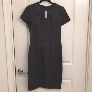 NWT Banana Republic gray dress